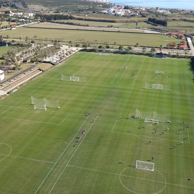 Fotbollsplaner, Santa Maria Polo Club, Sotogrande, Spanien