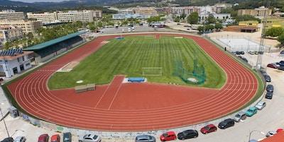 Fotboll- och friidrottstadion, Pistes d´Atletisme, Lloret de Mar, Spanien