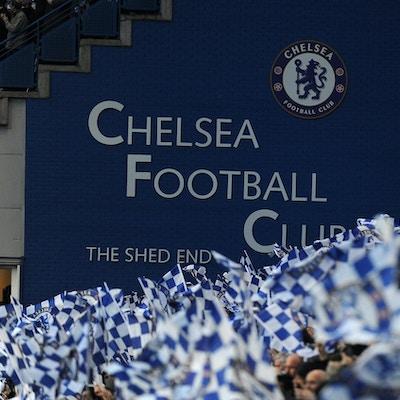 Fotbollsresor till Chelsea, Stamford Bridge, London, England