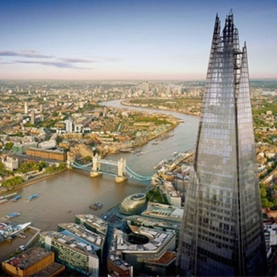 The Shard, 310meter hög, Storbritanniens högsta byggnad, London