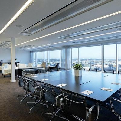 Konferensrum, utsikt över Göteborg, Gothia Towers, Göteborg, Sverige