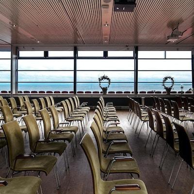Stort konferensrum och kongressal, havssutsikt, Hotel Skansen, Båstad, Sverige