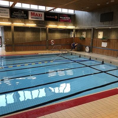 Inomhus 25-meters bassäng med 6 banor, Ronneby, Sverige