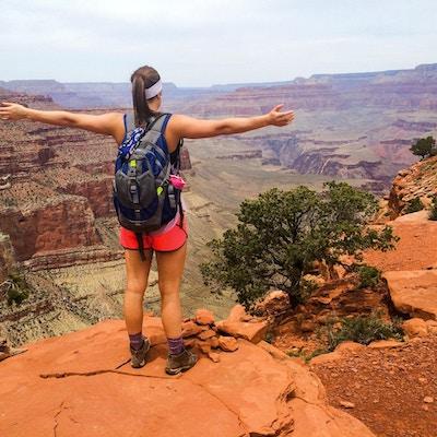 Usa grand canyon tjej1