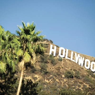 Usa kalifornien hollywood skylt1
