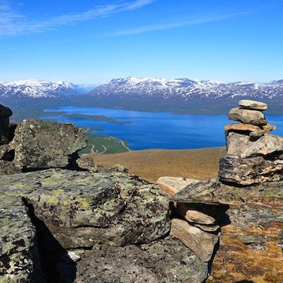 """""""På toppen av berget Njulla, Abisko nationalpark, Sverige"""""""