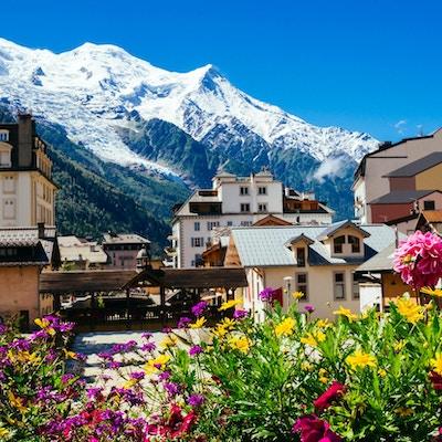 Chamonix i Frankrike.