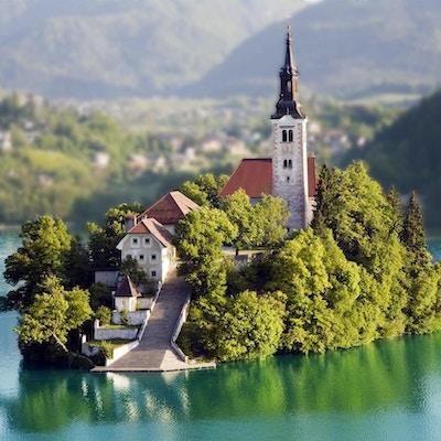 Island Bled, Slovenien